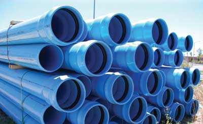 Water Main PVC Pipes